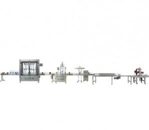 油类灌装生产线